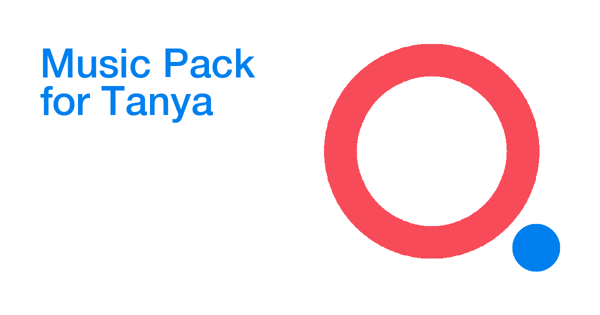 Music Pack for Tanya